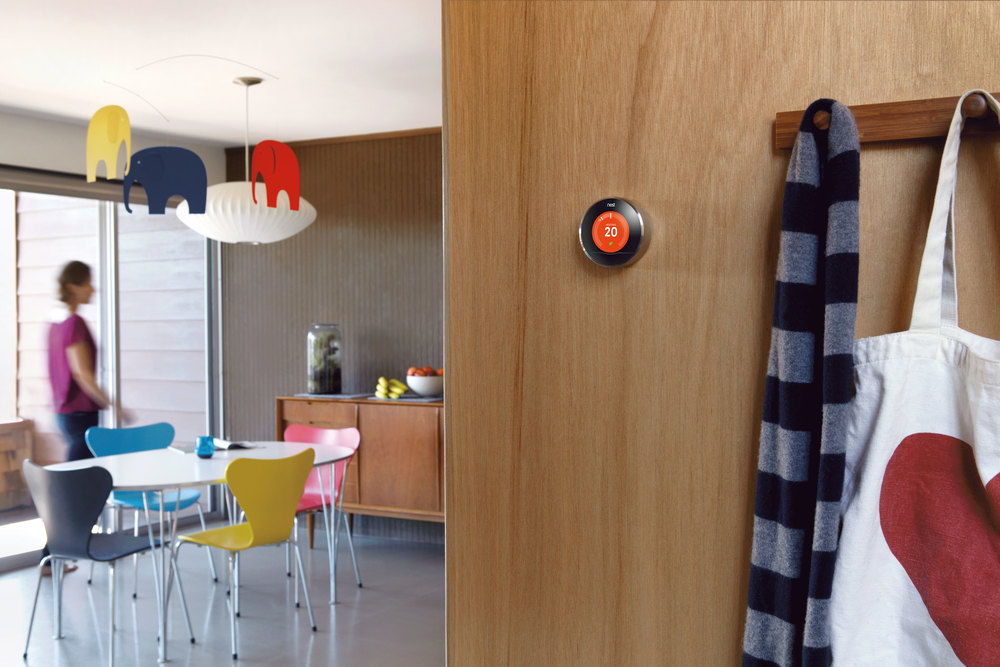 Nest Learning Thermostat brings style and function to your home.