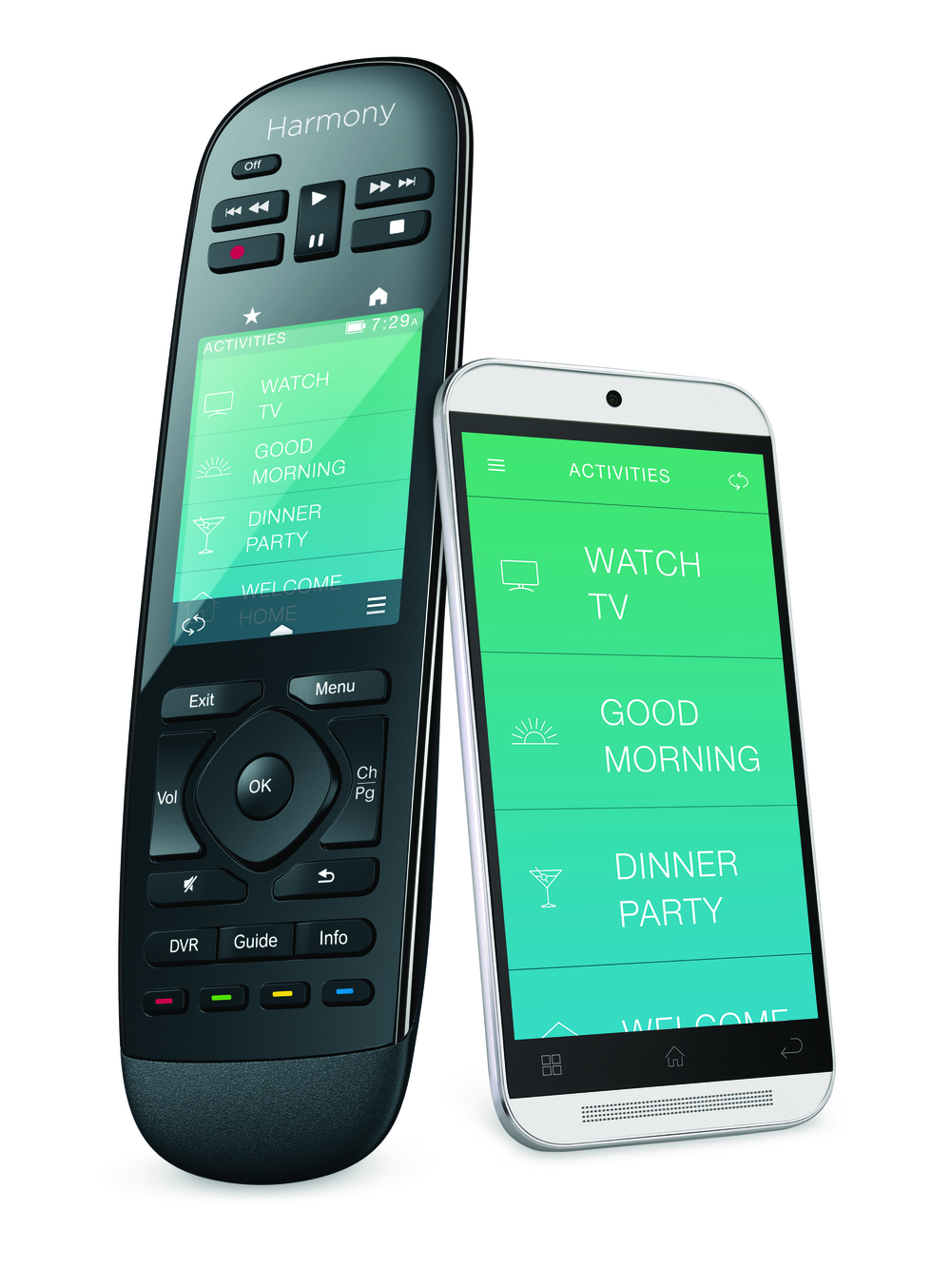 An inexpensive remote control and app from Logitech can be the controller for your Smart Home.