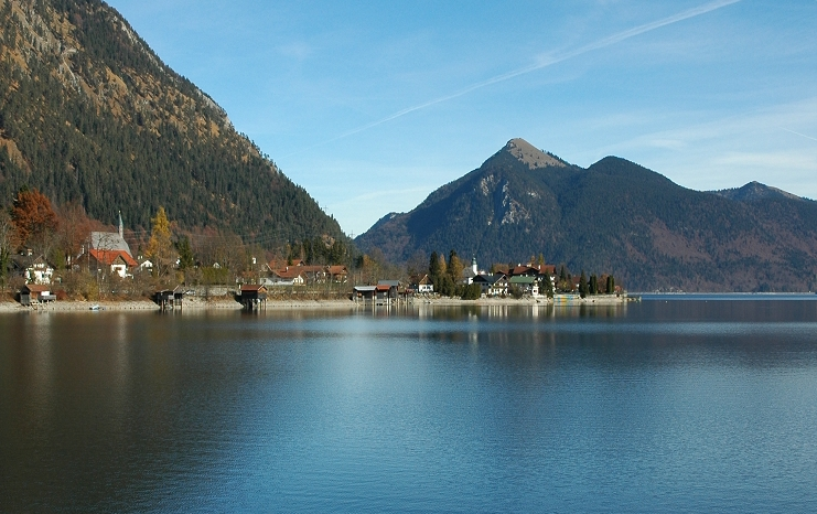 Lake Walchensee Germany