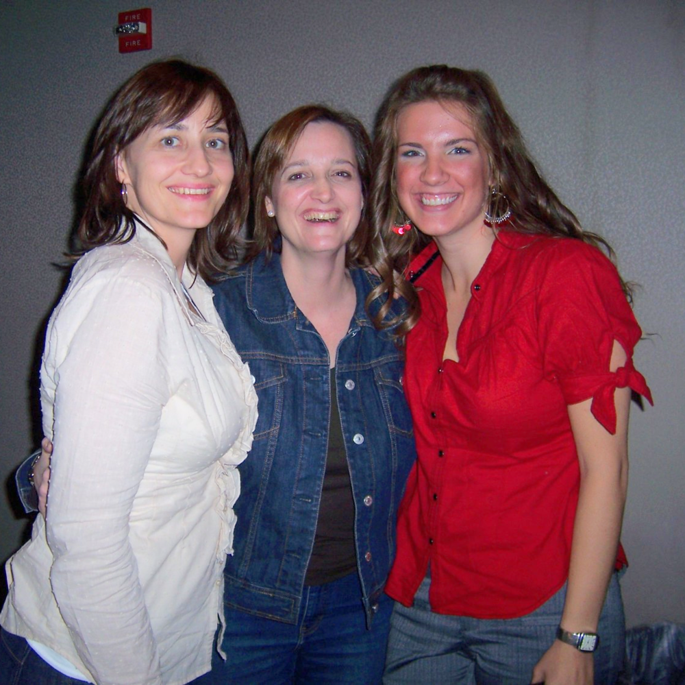 Sue, Sue's sister Jenny and I at the So You Think You Can Dance live show. Because we keeeeeeep bleeding, keeeeeep keeeeeeep bleeding love...