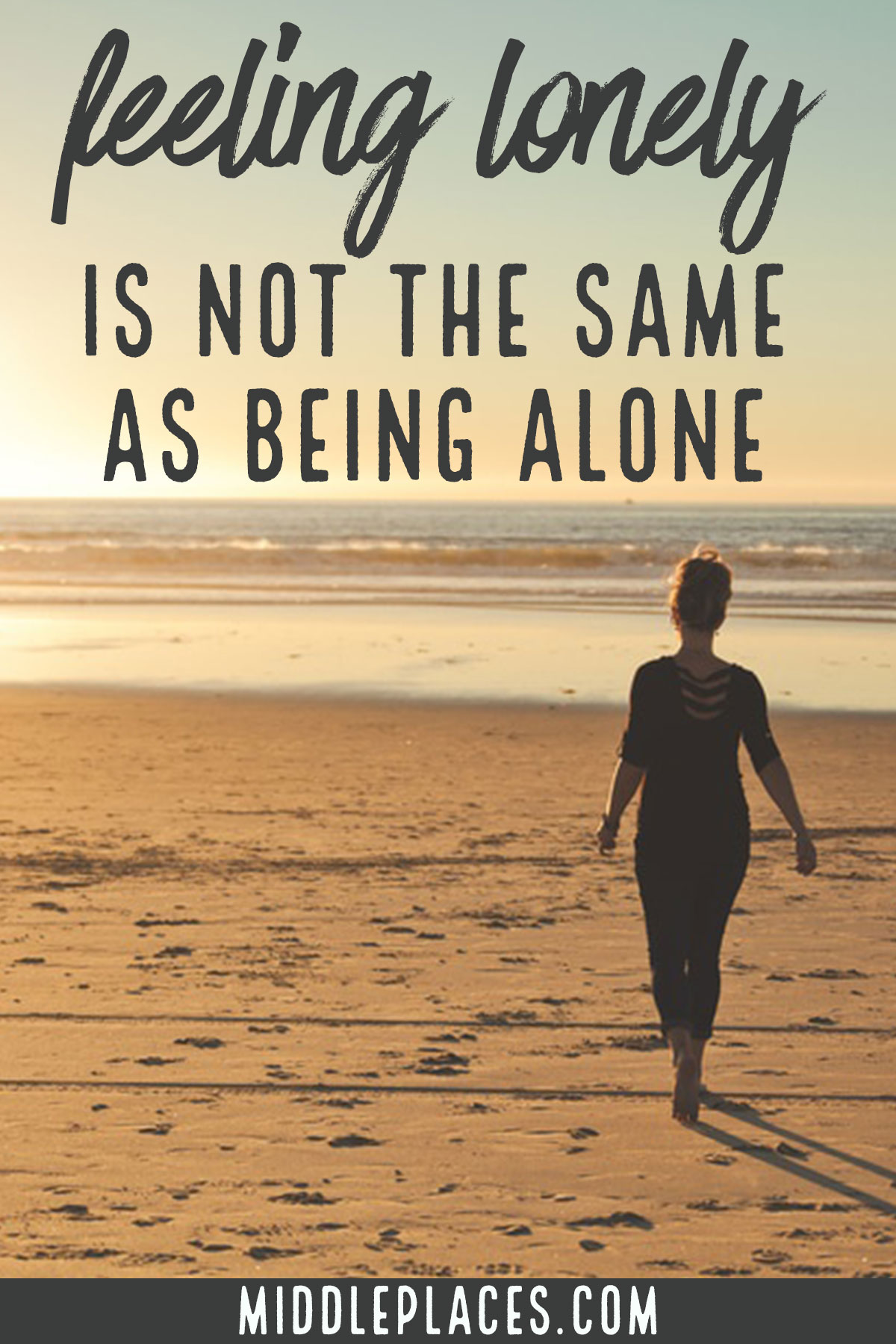 on being lonely