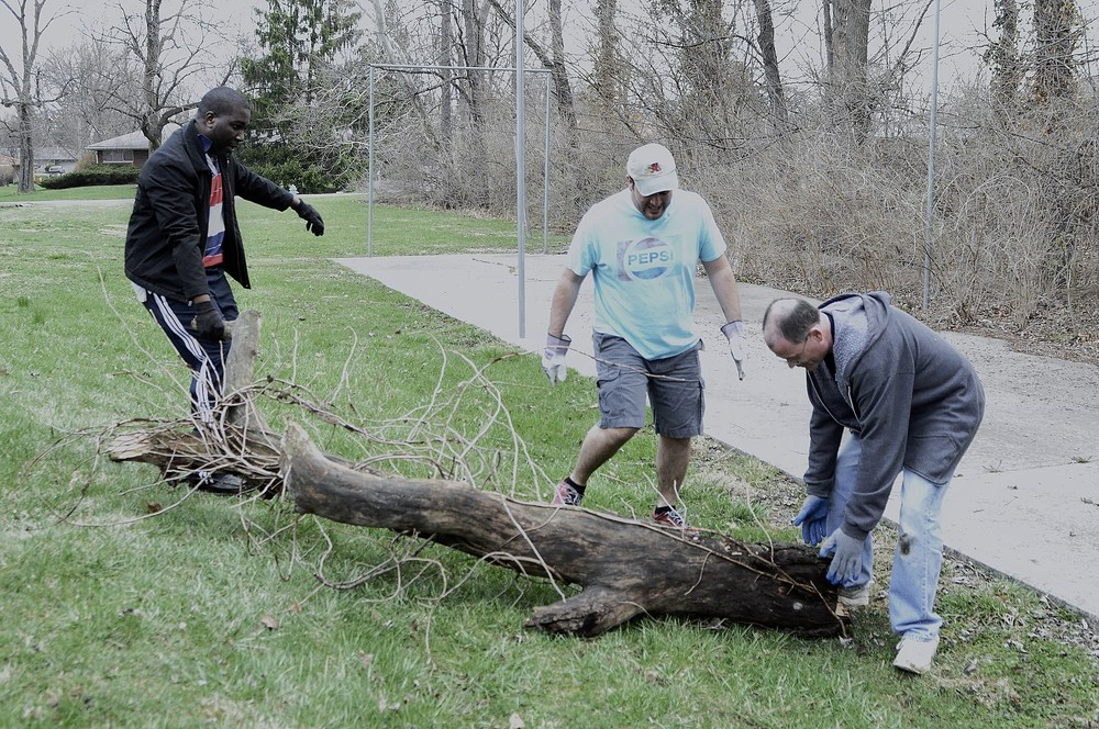 Grounds clean up to bring Play Ball Indiana to St. Alban's