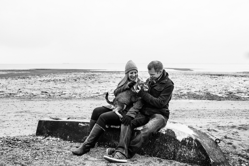 Mersea Island Engagement Shoot