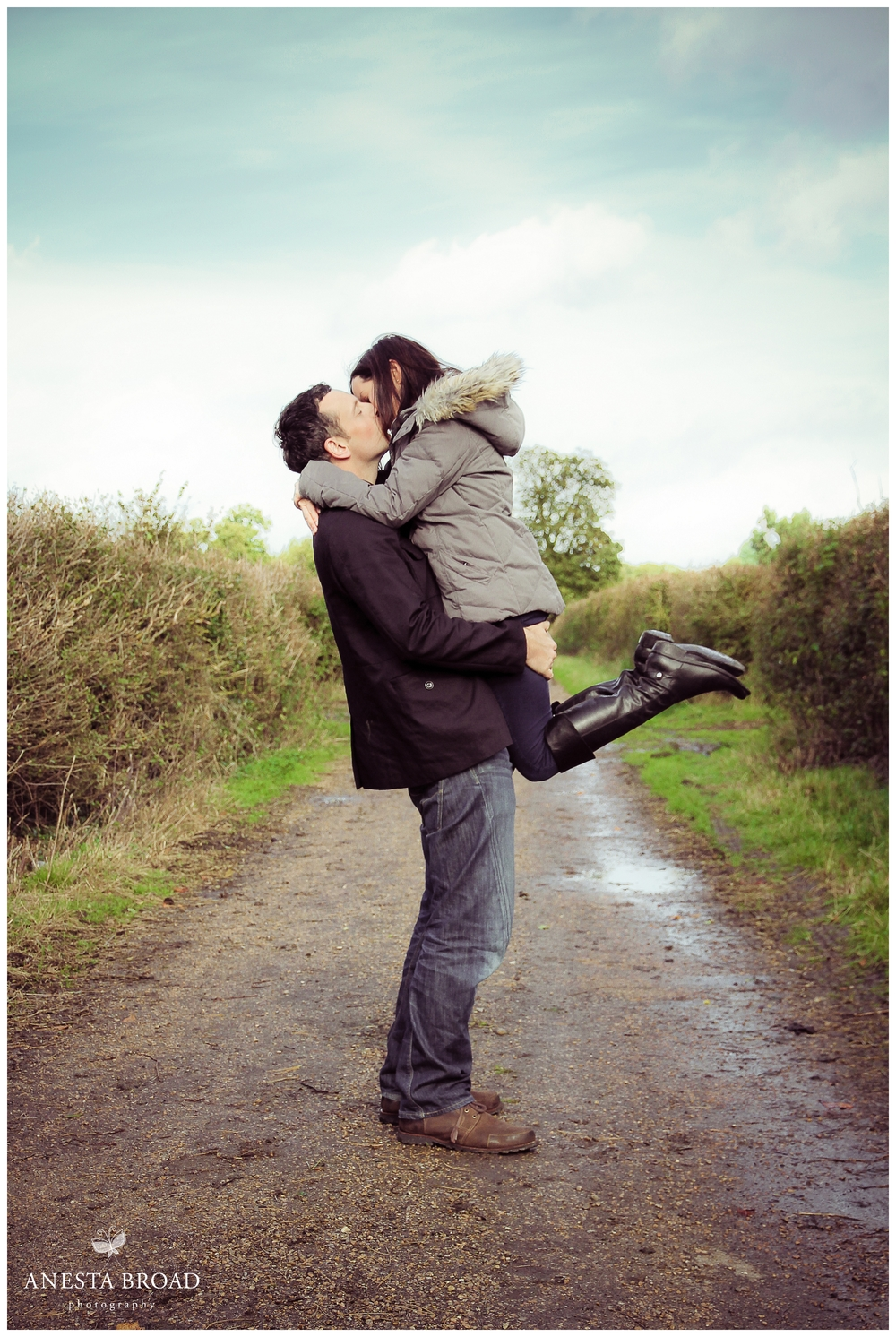 Gaynes Park Essex Engagement Shoot