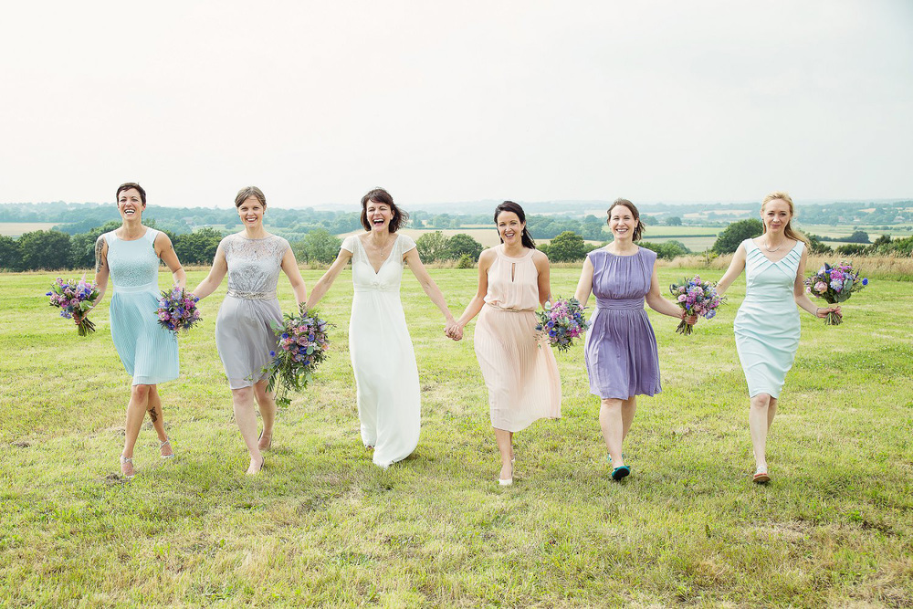 Vintage Pastel Themed Sussex Wedding