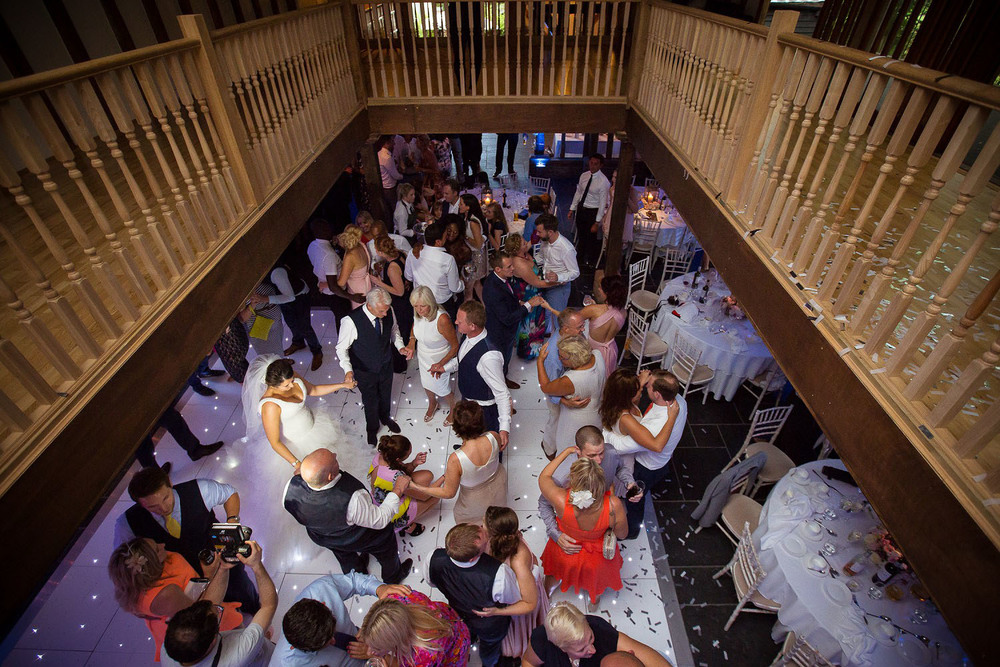 Wedding at Old Brook Barn - Dancefloor