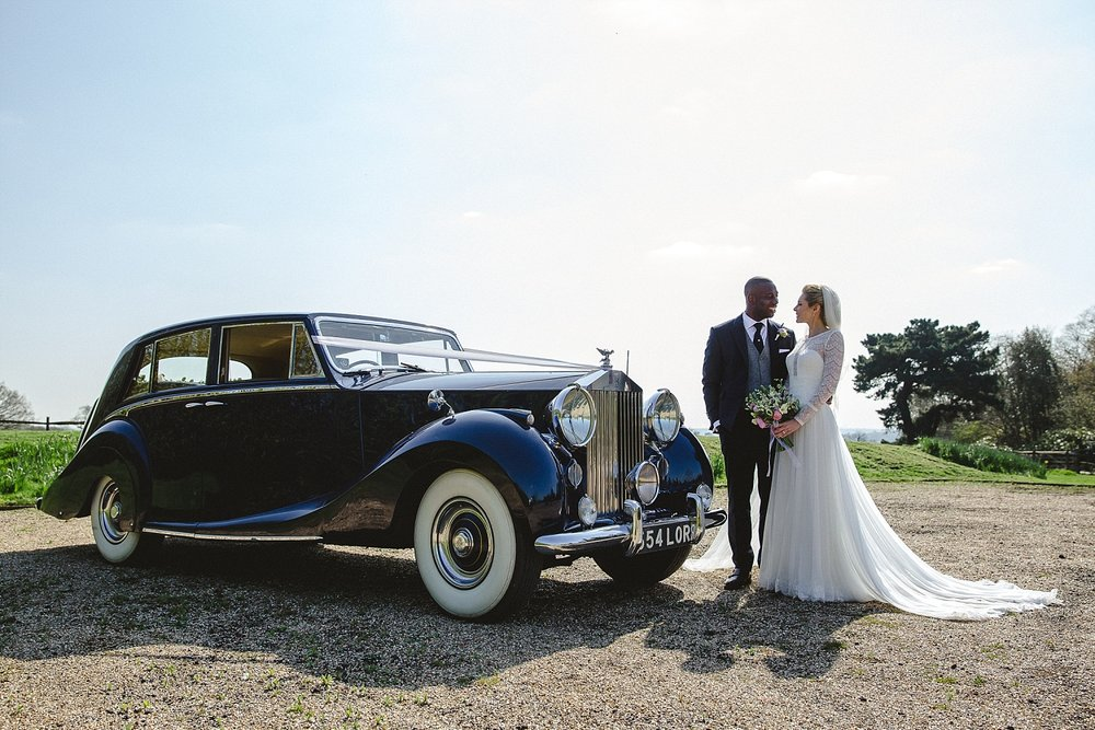 Gaynes Park Wedding - Essex Wedding Photographer - Wedding Car
