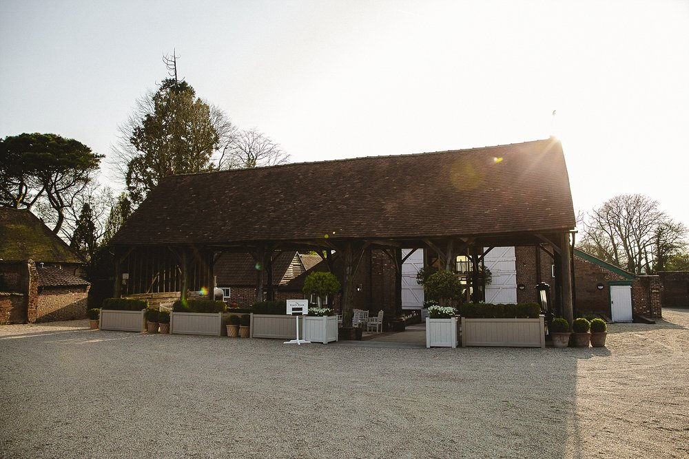 Gaynes Park Wedding Barn
