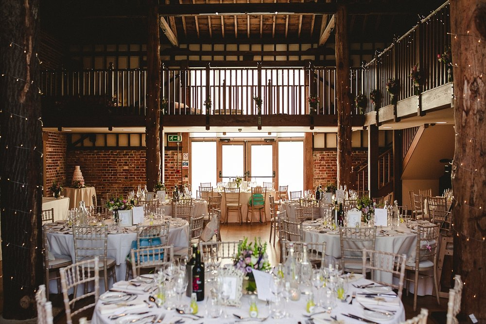 Gaynes Park Essex Wedding Barn