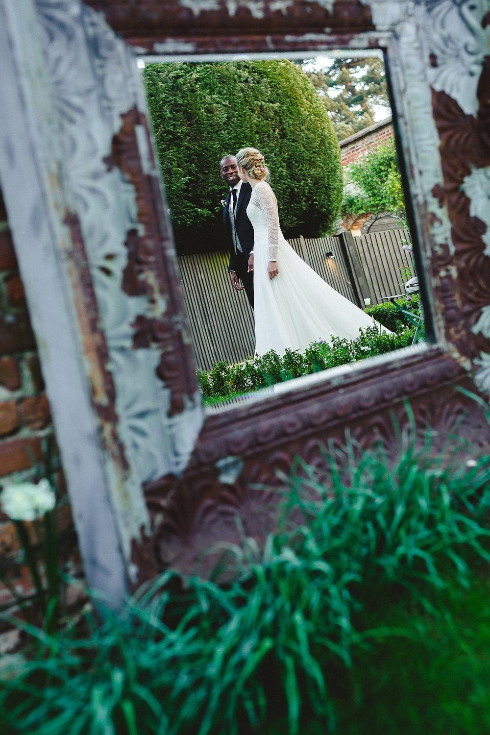 Gaynes Park Wedding Photographer - Portrait
