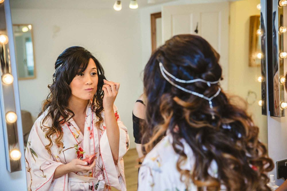 Blake Hall Wedding Bridal Preparation