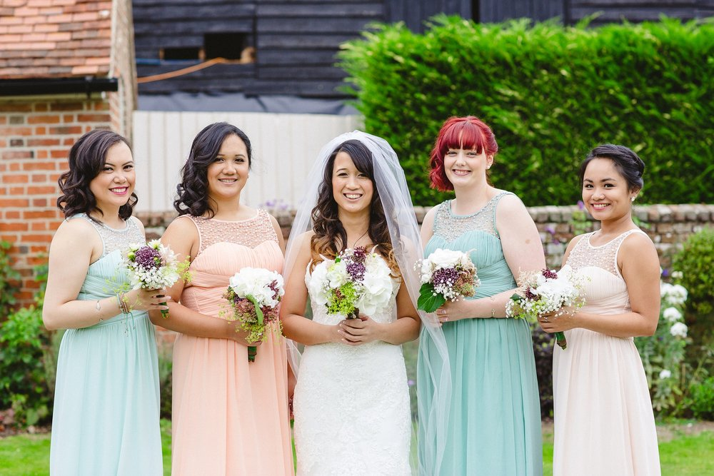 Blake Hall Wedding Bridesmaids