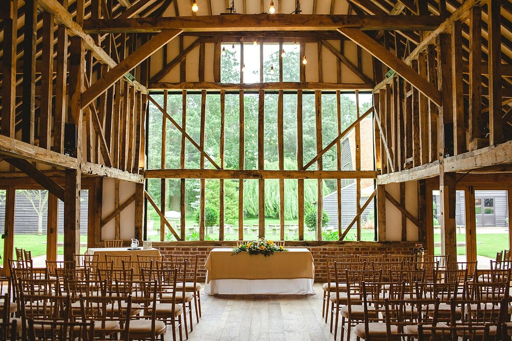 Blake Hall Wedding Ceremony Barn