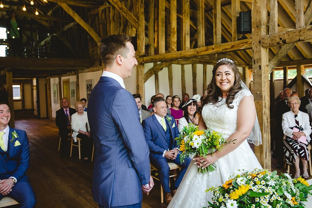 Blake Hall Essex Barn Wedding Ceremony