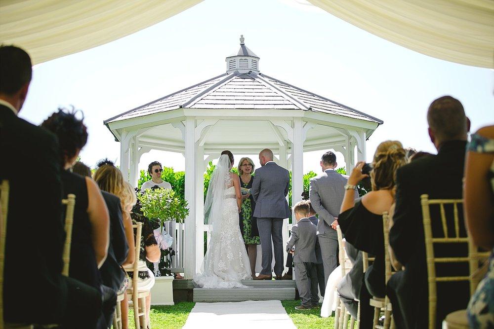 Old Brook Barn Wedding Ceremony