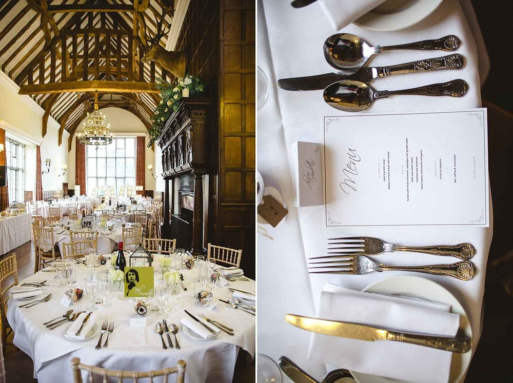 Wedding Photographer Essex - Layer Marney Tower Long Gallery