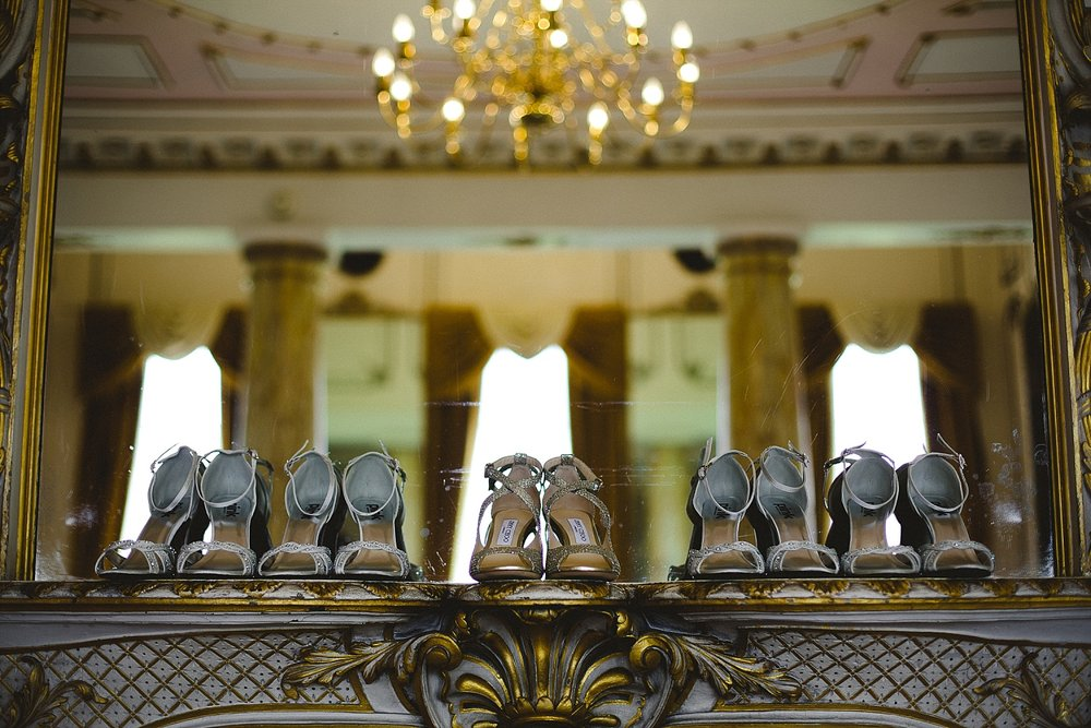 Wedding Shoes at Gosfield Hall Wedding