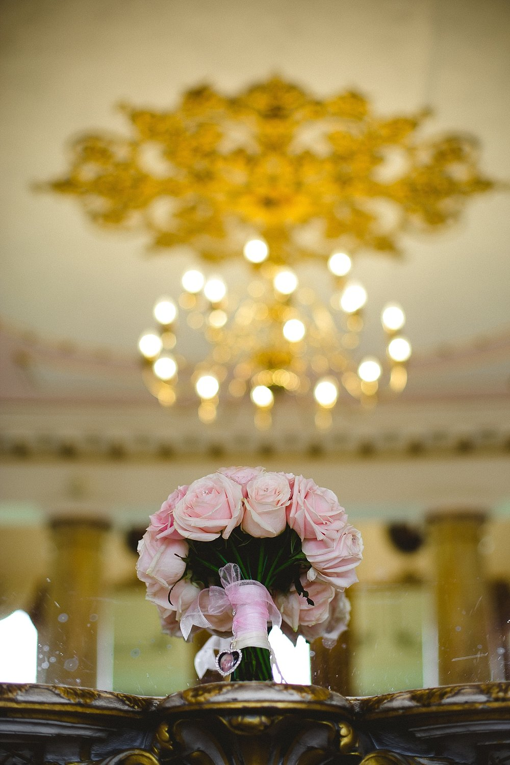 Bride's Bouquet at Gosfield Hall Wedding