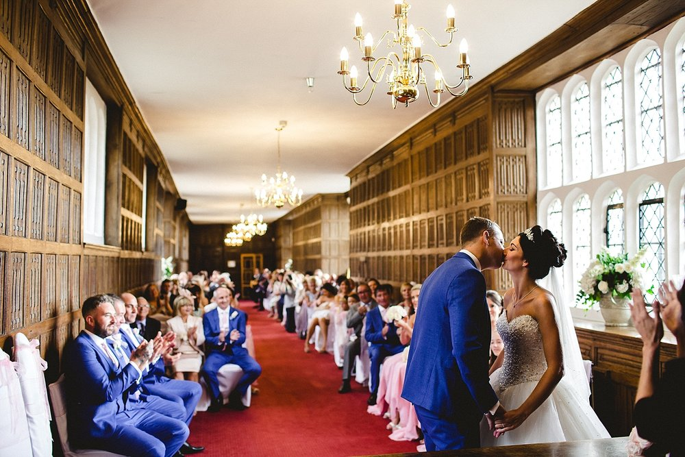 Gosfield Hall Wedding - Ceremony Room