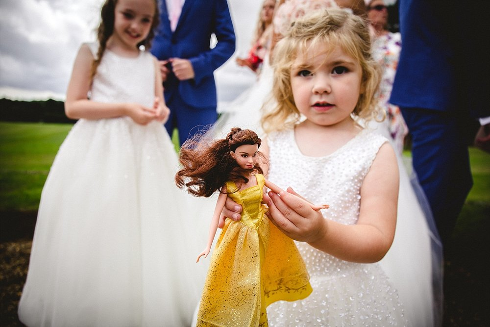 Gosfield Hall Wedding Photography - Flowergirls
