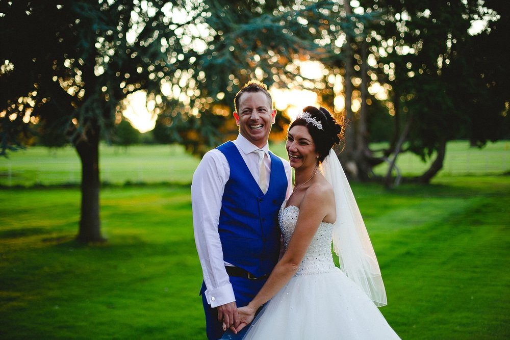 Gosfield Hall Wedding - Portraits at Sunset - Anesta Broad Photography