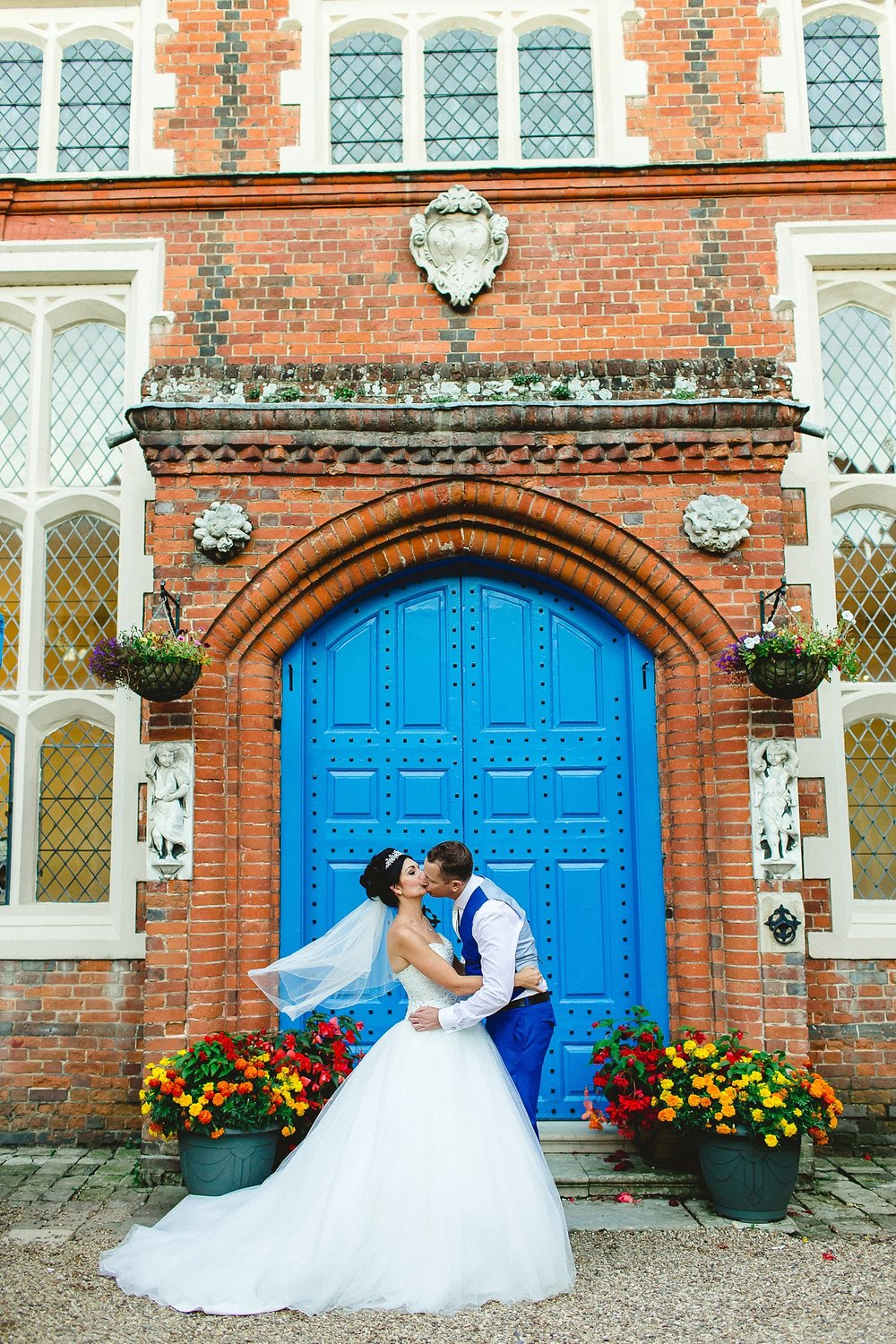 Gosfield Hall Wedding - Couple Portrait