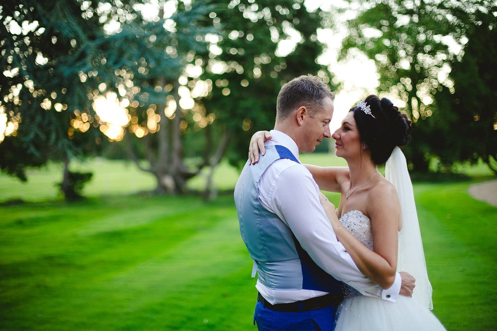 Gosfield Hall Wedding - Portraits at Sunset