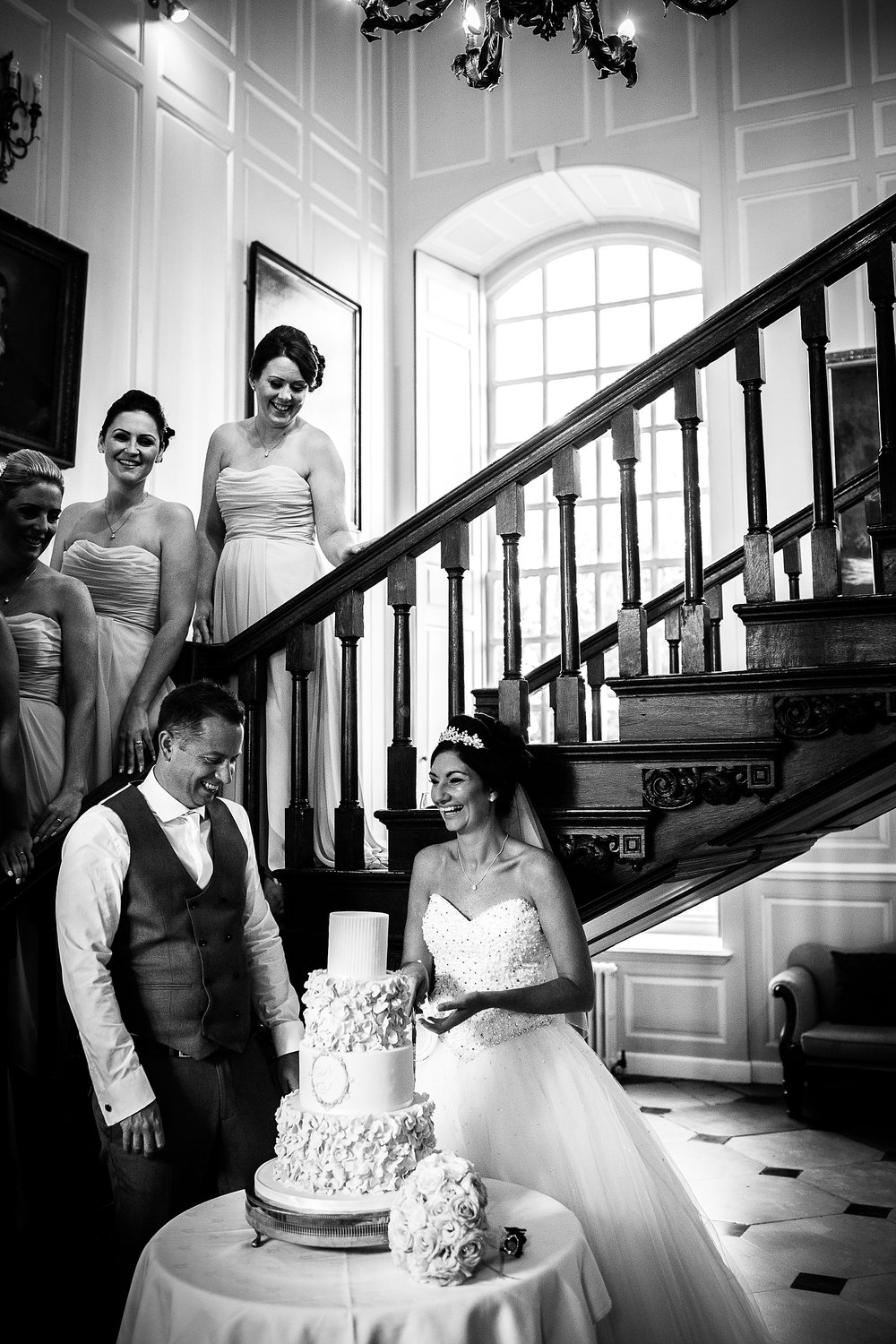 Gosfield Hall Wedding - Cake Cutting