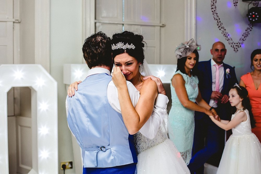 Gosfield Hall Wedding - Father Daughter Dance