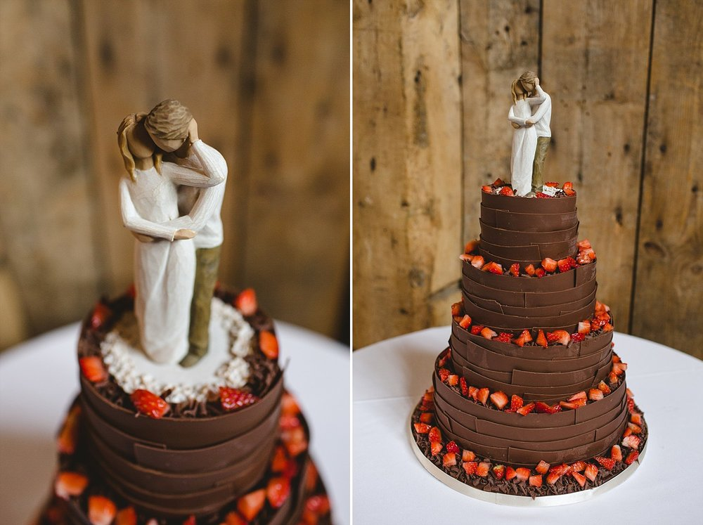 Blake Hall Wedding Cake
