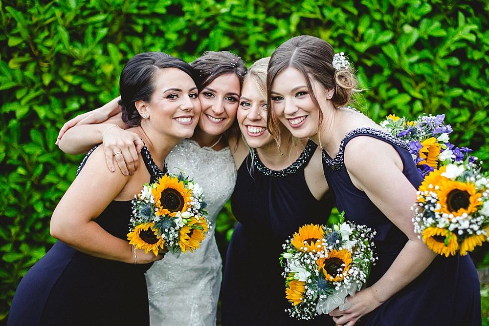 Old Brook Barn Essex Wedding Bridesmaids