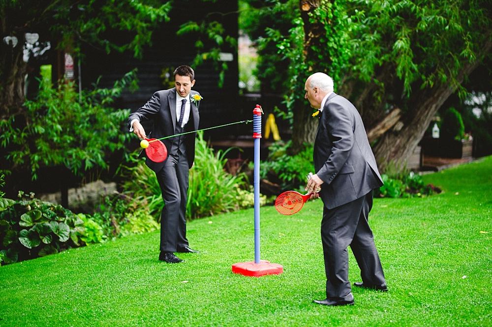 Old Brook Barn Outdoor Wedding Reception Outdoor Games
