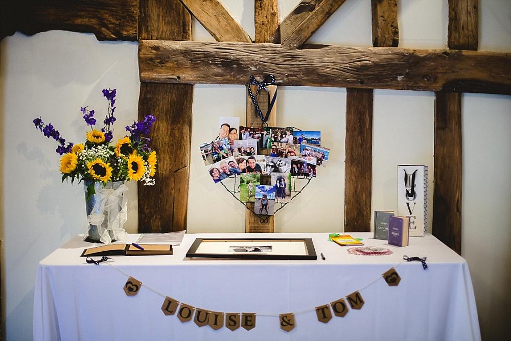 Old Brook Barn Outdoor Wedding Reception Barn Details