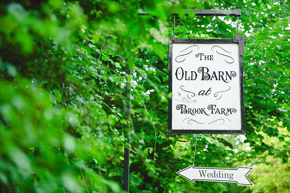Old Brook Barn Essex Wedding
