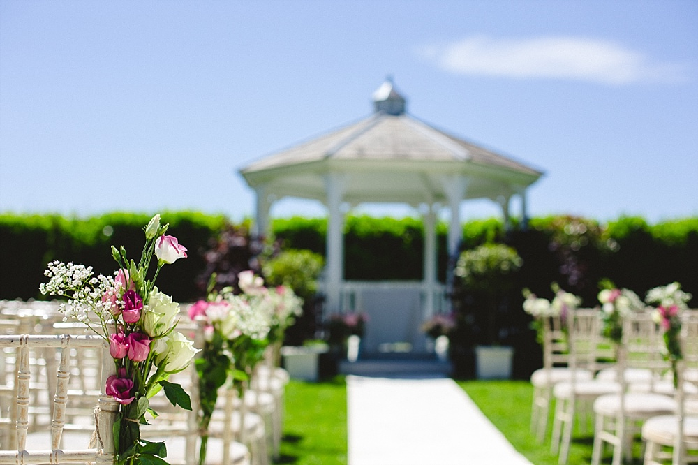 Old Brook Barn Outdoor Wedding Ceremony