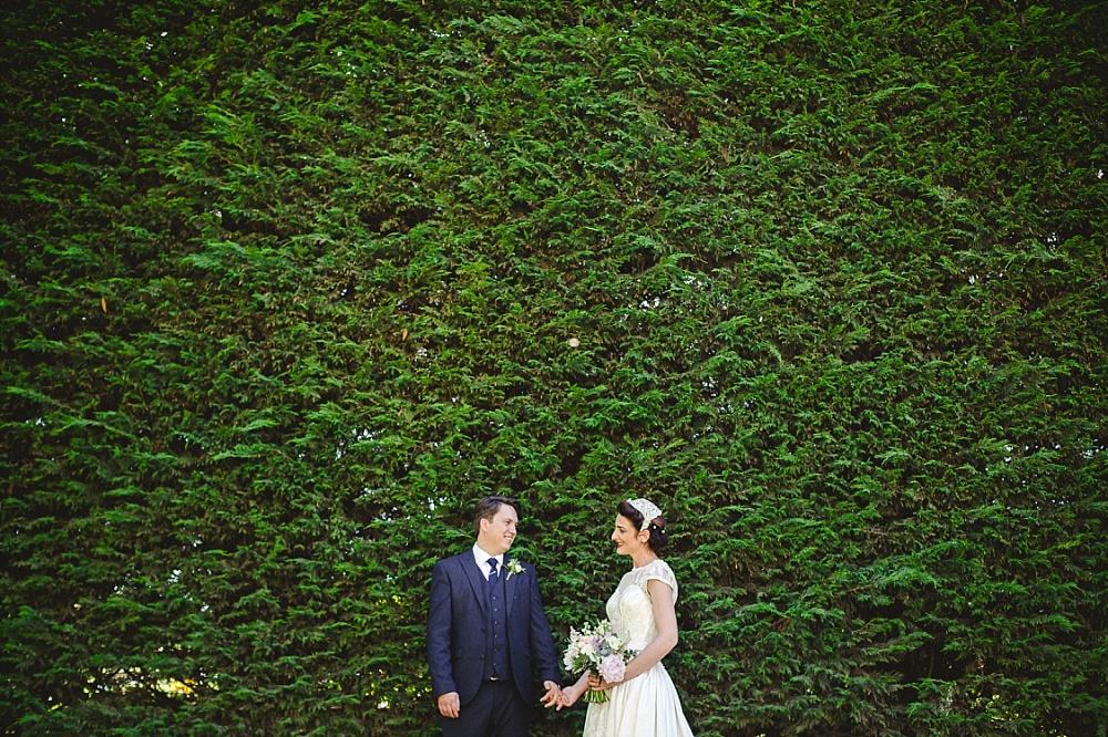 Old Brook Barn Essex Outdoor Wedding Ceremony