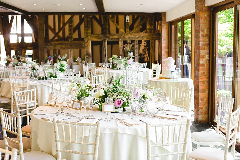 Old Brook Barn Outdoor Wedding Reception Decorations