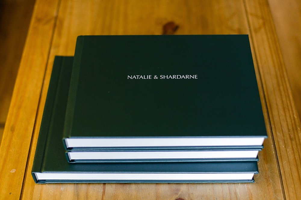 Leather album with parent albums