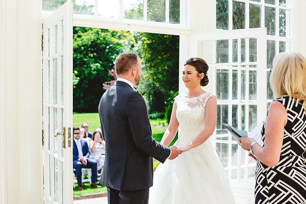 Langtons House Essex Wedding Photographer - Outdoor Ceremony