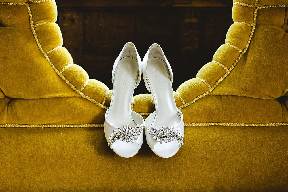 Houchins Wedding Photographer Bridal Shoes