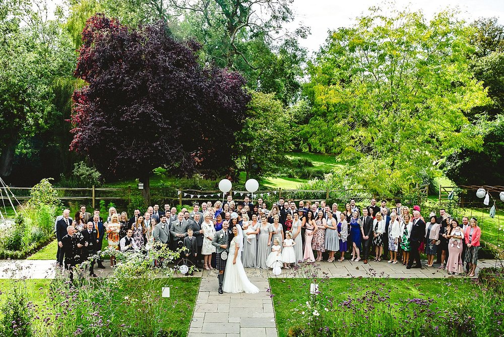 Houchins Essex Wedding Photographer - Group Shot