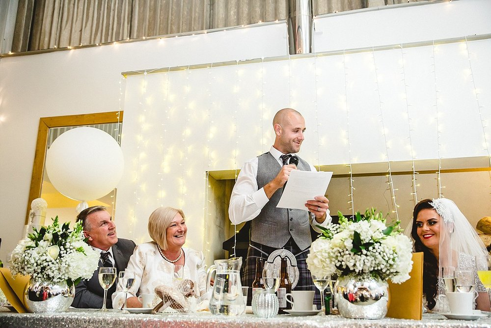 Houchins Essex Wedding - Groom's Speeches