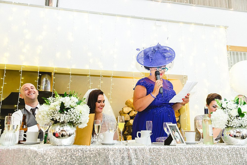 Houchins Essex Wedding - Mother of the Bride's Speech