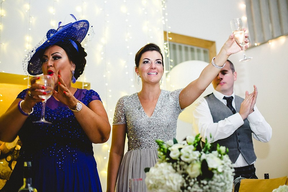 Houchins Essex Wedding - Toasts and Speeches