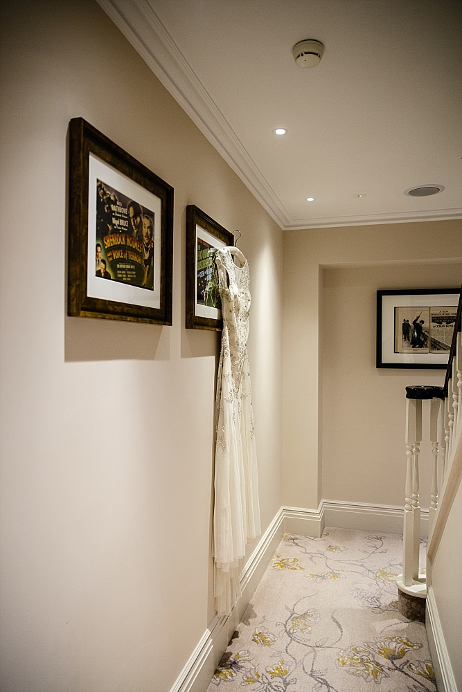 The Langham Hotel London Wedding - Bridal Gown