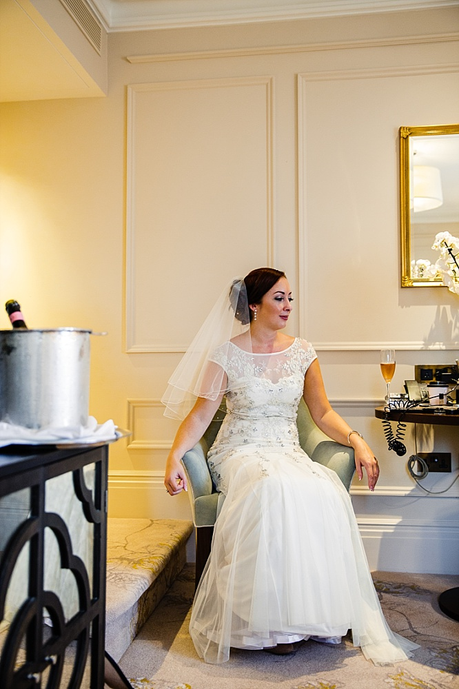 The Langham Hotel London Wedding - Bridal Preparations