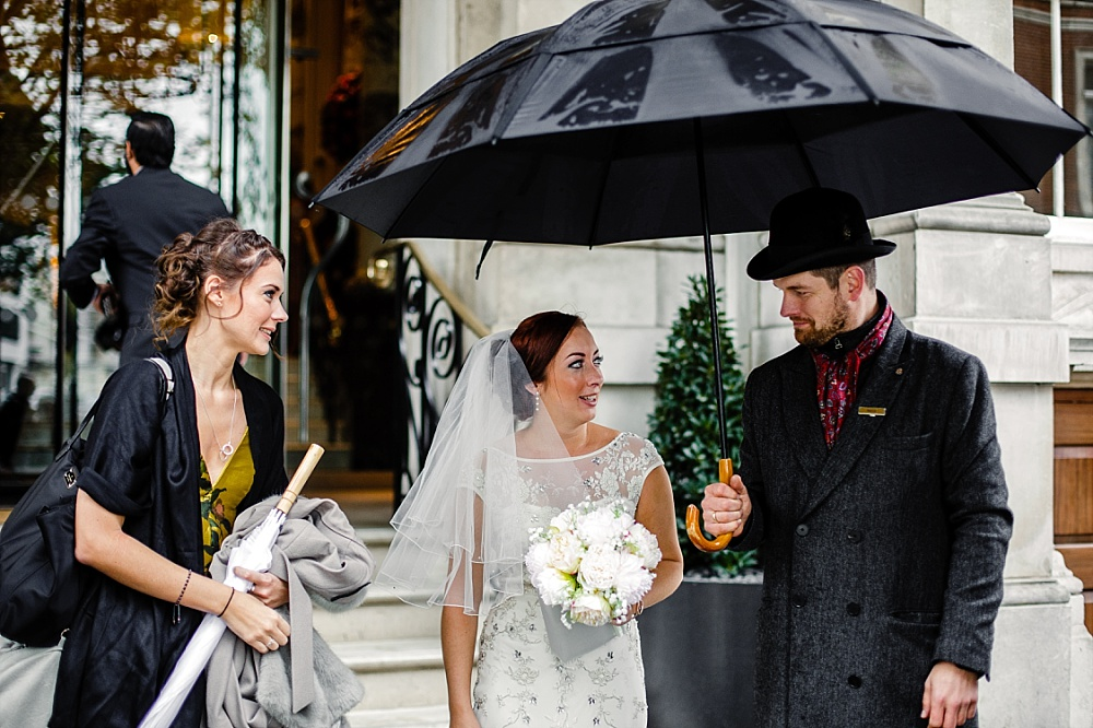 The Langham Hotel London Wedding