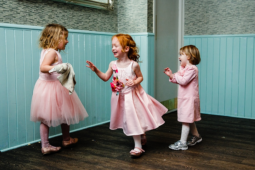 The Chapel London Wedding - Islington Town Hall Wedding Photographer - Kids on the Dancefloor