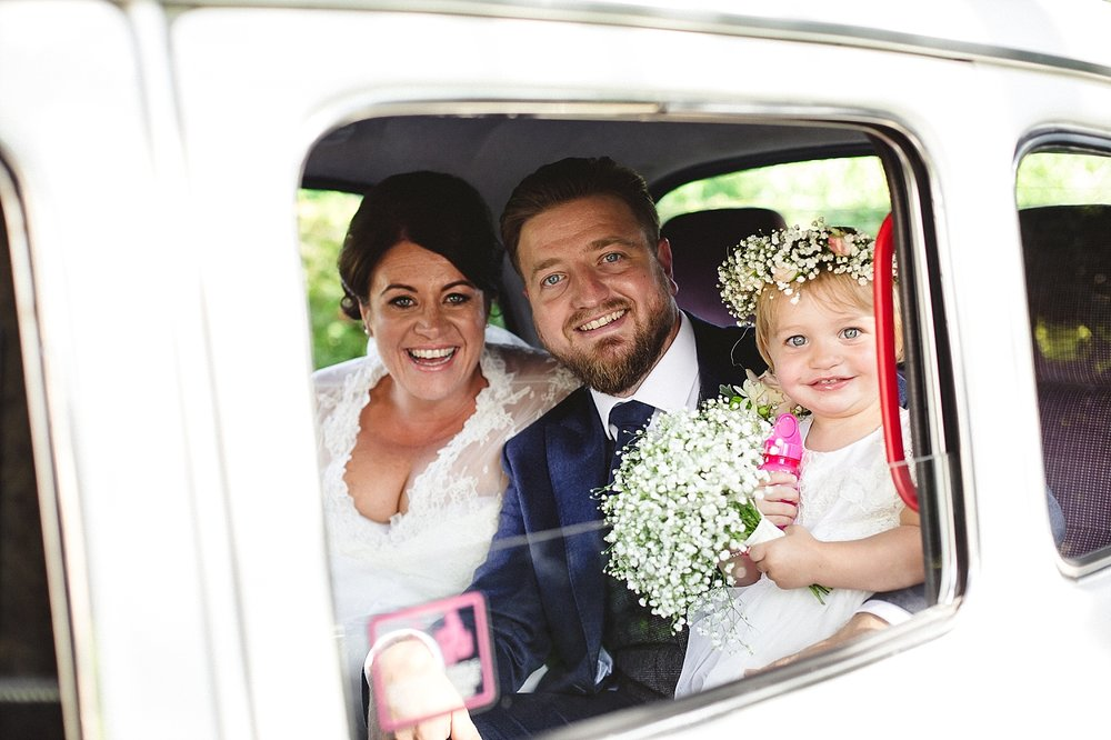 Moor Hall Wedding Taxi - Anesta Broad Photography