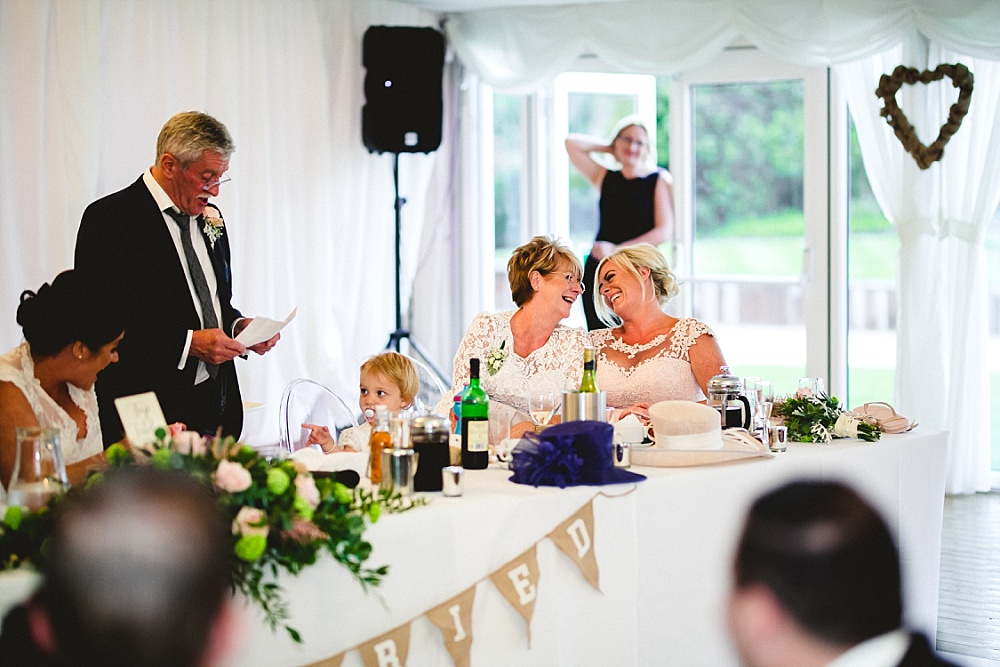 Moor Hall Essex Wedding Photographer - Speeches